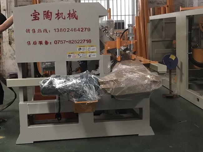 十四头圆弧抛光机-双刀瓷砖切割机发出贵州遵义(图1)