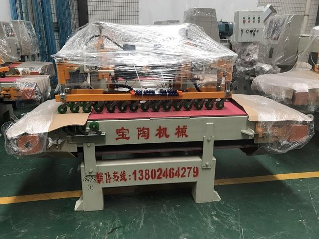 十四头圆弧抛光机-双刀瓷砖切割机发出贵州遵义(图3)