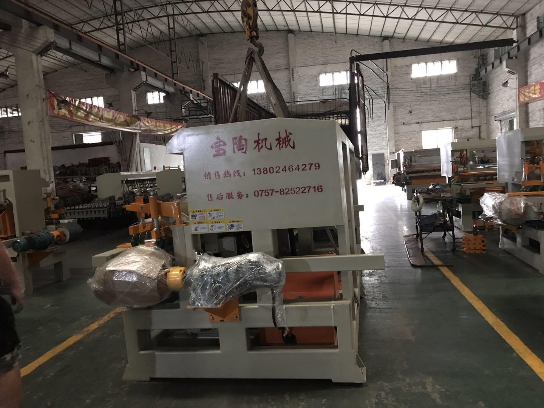 宝陶BT-1200型十头圆弧抛光机发出江西抚州(图2)